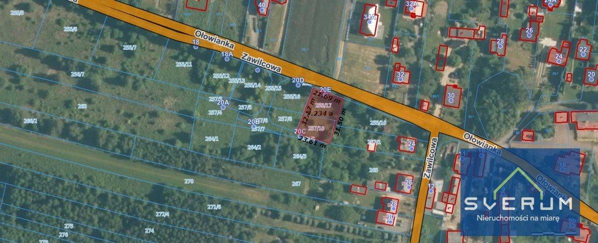 Działka budowlana na sprzedaż Częstochowa, Wyczerpy Górne, Zawilcowa  732m2 Foto 3