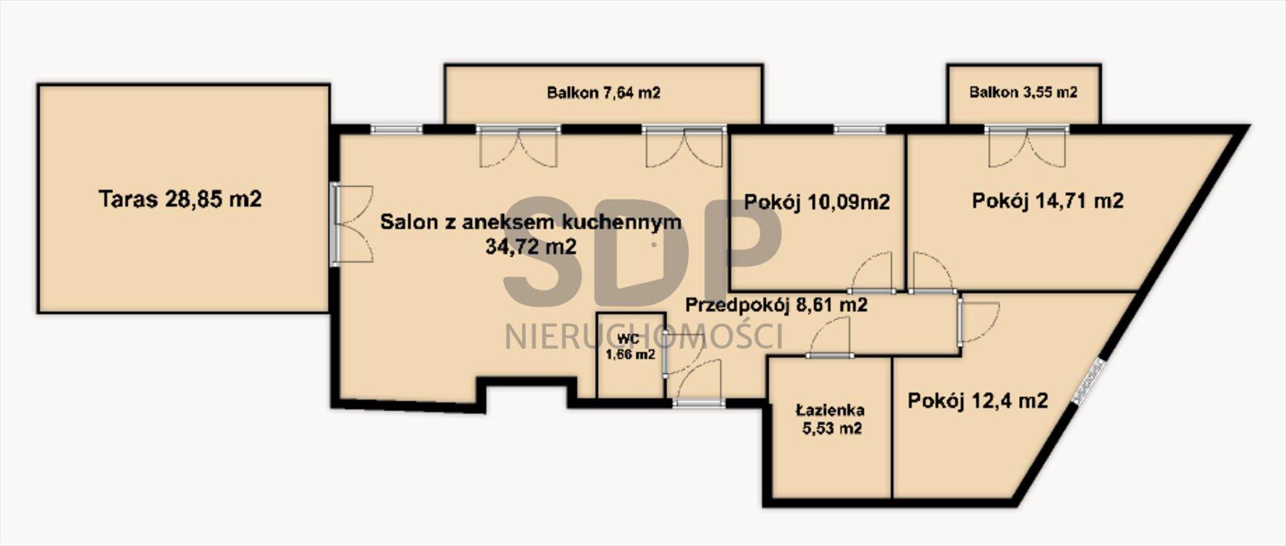 Mieszkanie czteropokojowe  na sprzedaż Wrocław, Fabryczna, Popowice, Długa  88m2 Foto 2