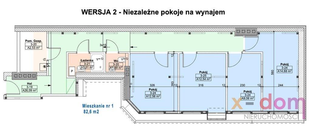 Mieszkanie czteropokojowe  na sprzedaż Kielce  80m2 Foto 7