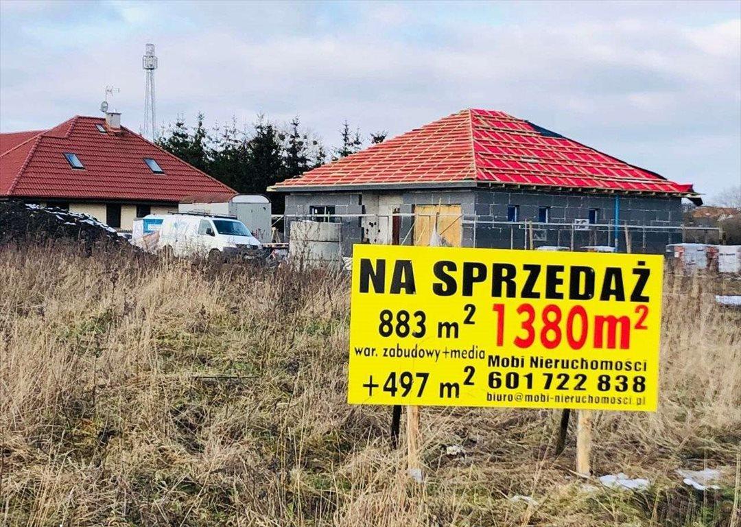 Działka budowlana na sprzedaż Mierzyn, Truskawkowa  1380m2 Foto 6
