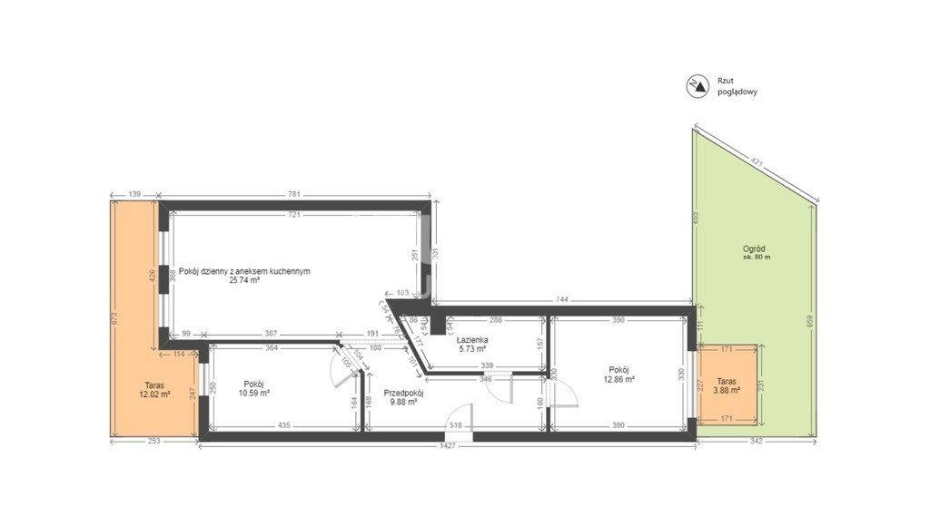 Mieszkanie trzypokojowe na sprzedaż Kraków, Dębniki, Dębniki, Szwedzka  64m2 Foto 6