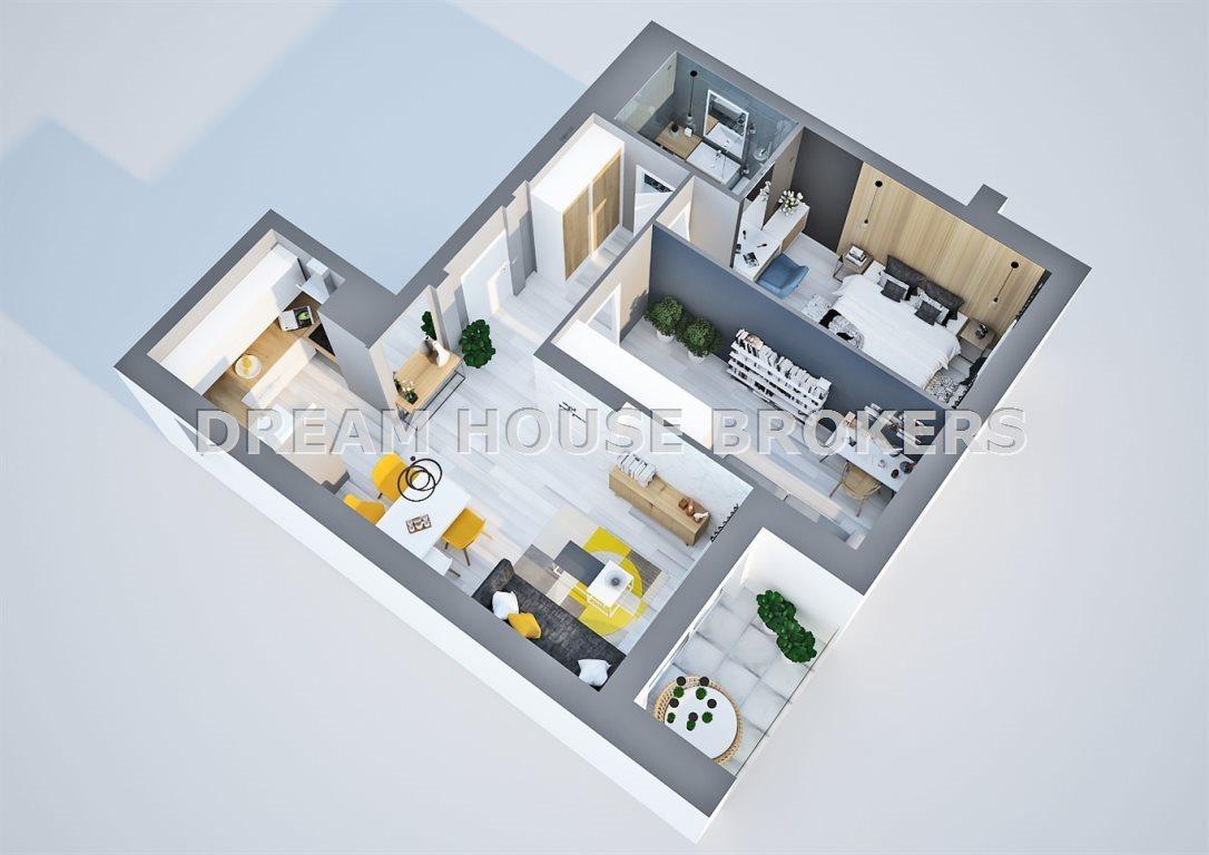 Mieszkanie trzypokojowe na sprzedaż Rzeszów, Krakowska  61m2 Foto 7