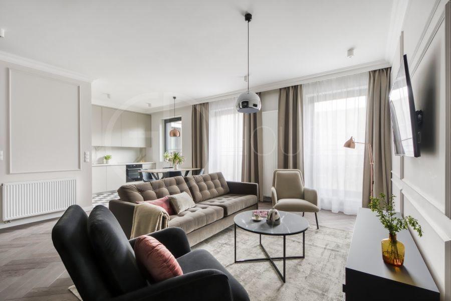 Mieszkanie dwupokojowe na wynajem Warszawa, Śródmieście, Mokotowska  66m2 Foto 1