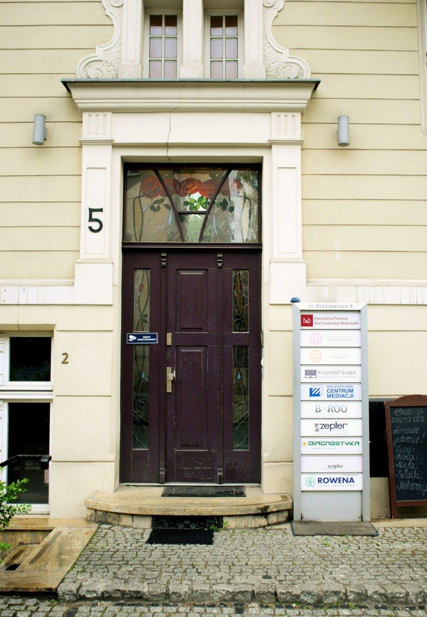 Lokal użytkowy na wynajem Poznań, Jeżyce, Adama Mickiewicza  68m2 Foto 2