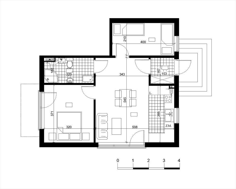 Mieszkanie trzypokojowe na sprzedaż Dębki, Mieszkanie Dom Apartament nad morzem, Południowa/Słoneczna  54m2 Foto 2