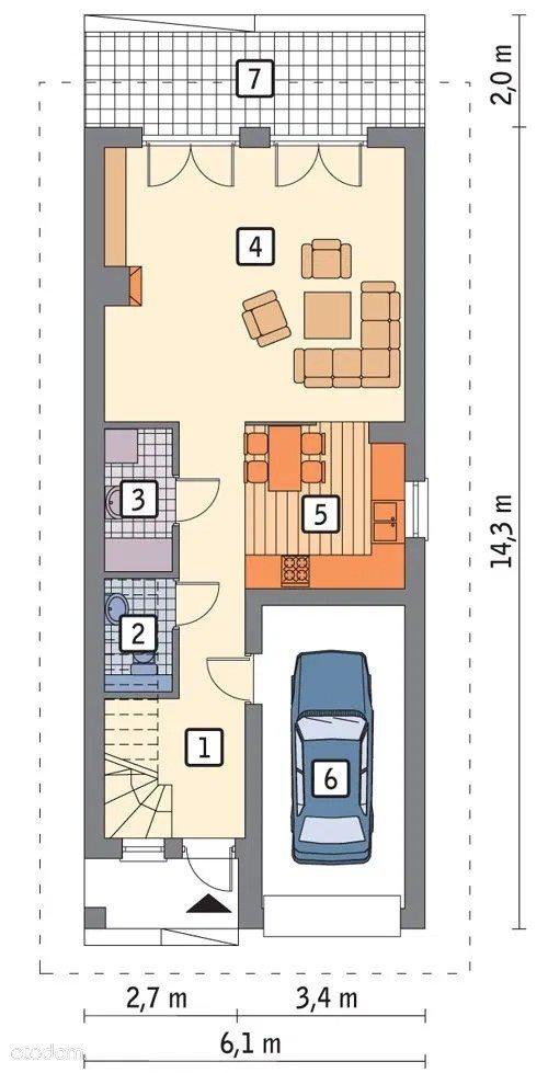 Dom na sprzedaż Daszewice  117m2 Foto 10