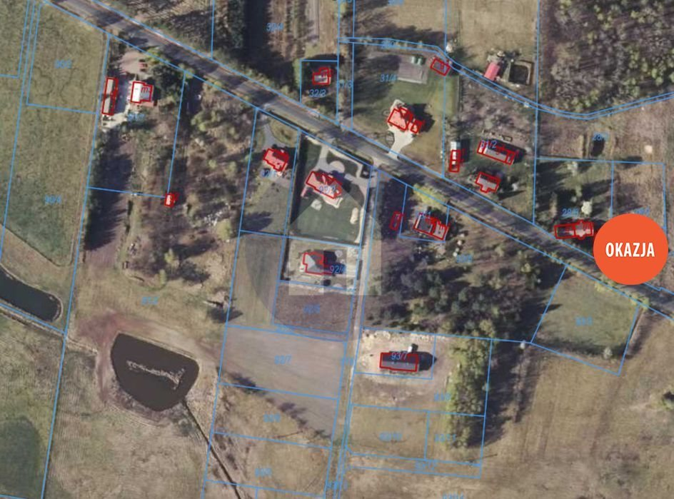 Działka budowlana na sprzedaż Jędrzychów  1500m2 Foto 2