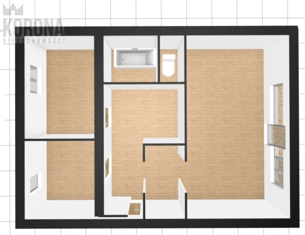 Mieszkanie dwupokojowe na sprzedaż Białystok, Sienkiewicza  47m2 Foto 2