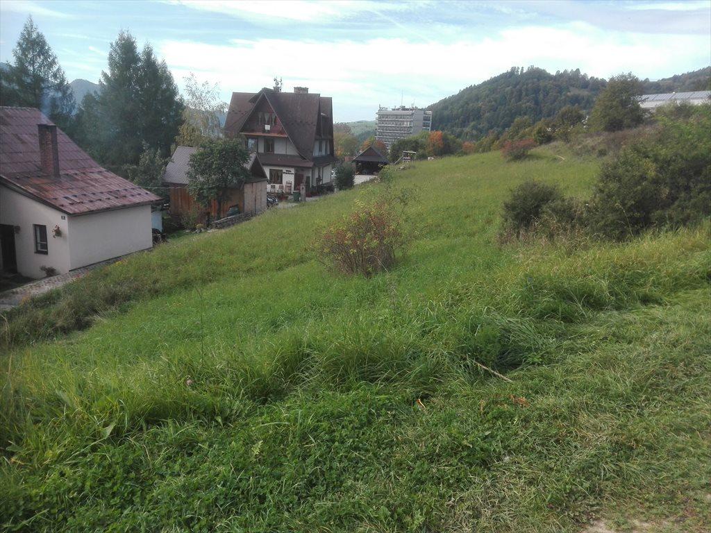 Działka budowlana na sprzedaż Szczawnica  2200m2 Foto 2