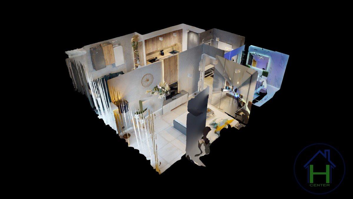 Mieszkanie dwupokojowe na wynajem Katowice, Dąb, Johna Baildona  54m2 Foto 5
