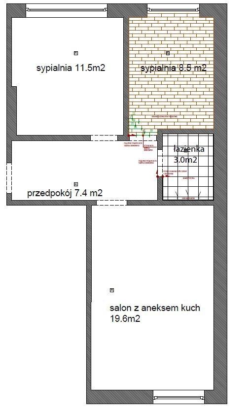Mieszkanie trzypokojowe na sprzedaż Warszawa, Ciasna 15  50m2 Foto 11