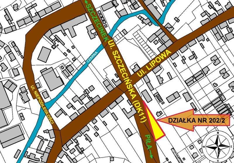 Działka inna na sprzedaż Okonek, Szczecińska  1020m2 Foto 3