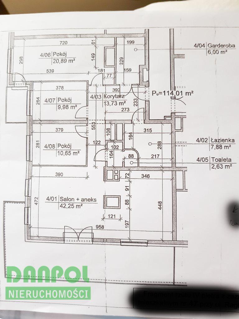 Mieszkanie na sprzedaż Szczecin, Śródmieście  114m2 Foto 4