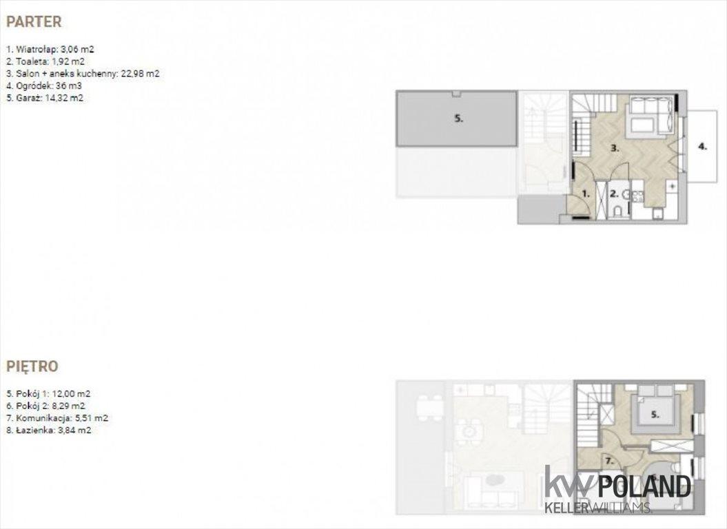 Mieszkanie trzypokojowe na sprzedaż Dachowa, Tęczowa  57m2 Foto 2
