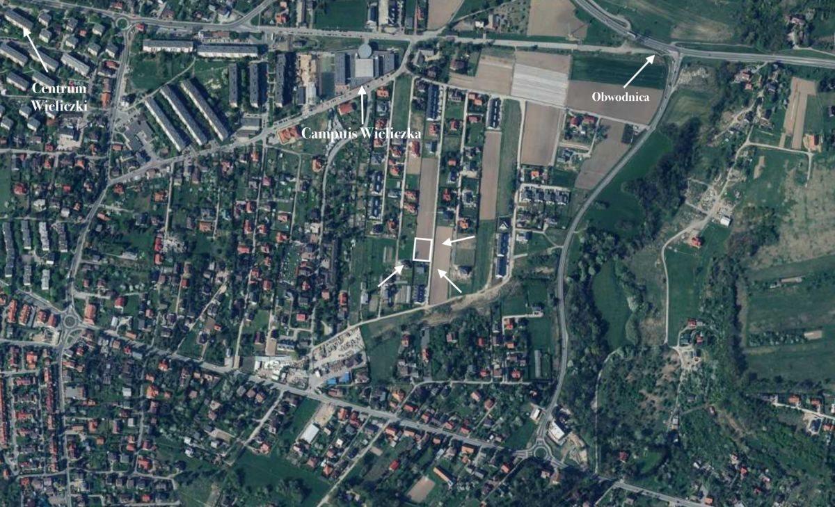 Działka inwestycyjna na sprzedaż Wieliczka  1000m2 Foto 1