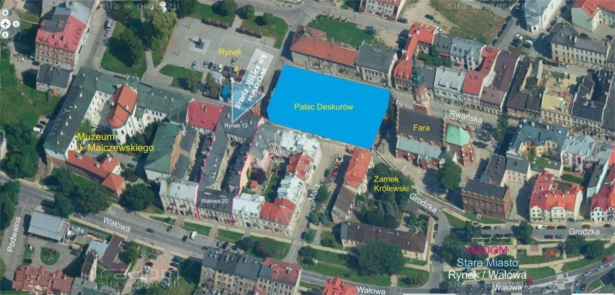Dom na sprzedaż Radom, Centrum, Wałowa 20/ Rynek 13  1056m2 Foto 4
