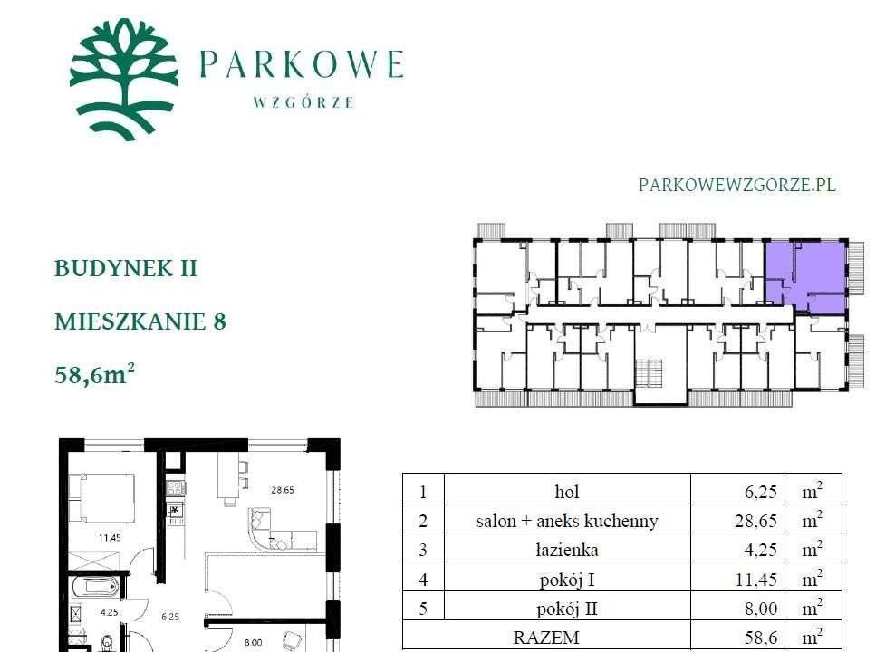 Mieszkanie trzypokojowe na sprzedaż Czechowice-Dziedzice, Legionów 124a  59m2 Foto 4