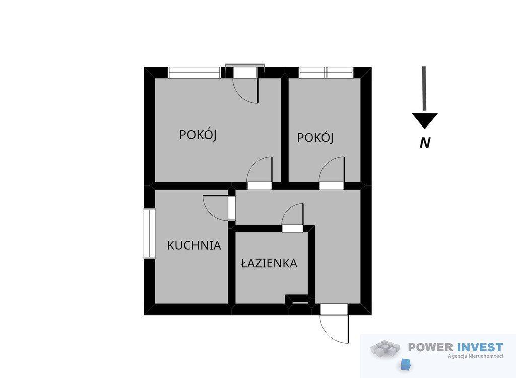 Mieszkanie dwupokojowe na sprzedaż Gliwice, Śródmieście, Zygmunta Starego  43m2 Foto 3