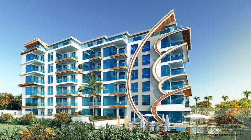 Mieszkanie dwupokojowe na sprzedaż Turcja, Alanya - Kestel, Alanya - Kestel  76m2 Foto 2