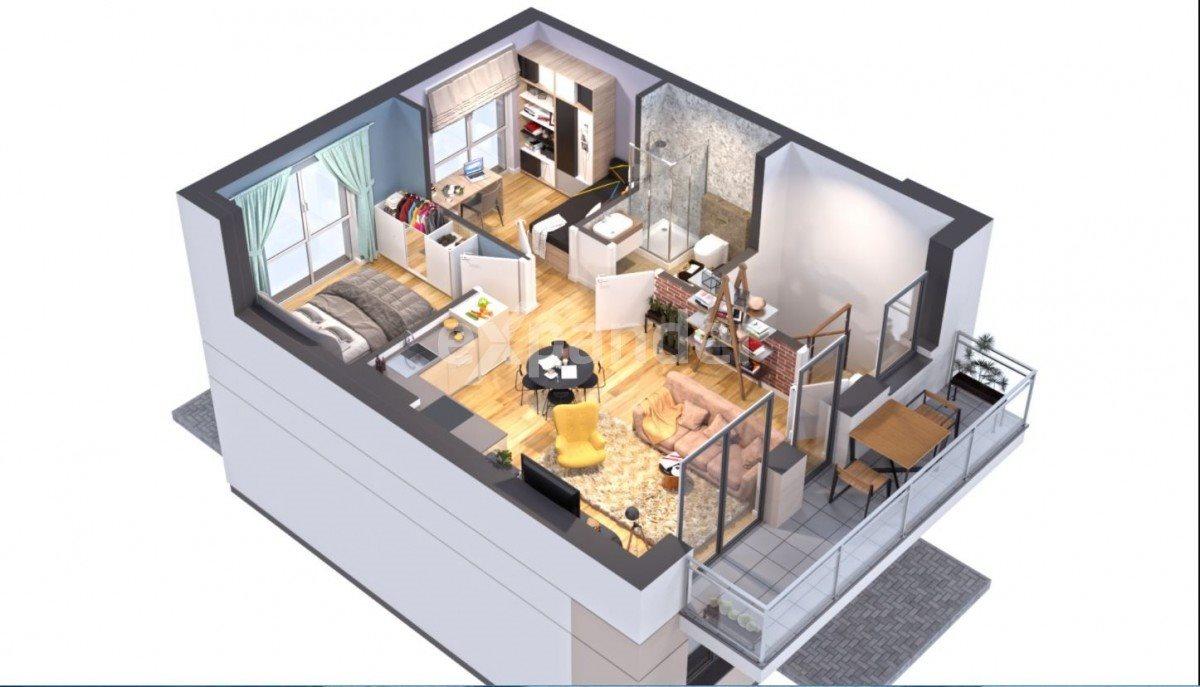 Mieszkanie trzypokojowe na sprzedaż Skórzewo, Serdeczna  49m2 Foto 2