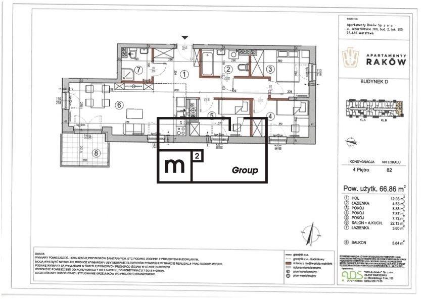 Mieszkanie czteropokojowe  na sprzedaż Warszawa, Włochy, Borsucza  67m2 Foto 1