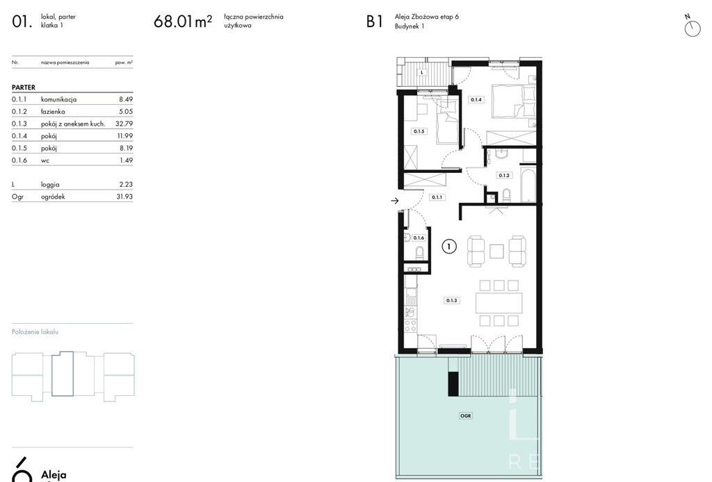 Mieszkanie trzypokojowe na sprzedaż Wieliczka, Zbożowa  68m2 Foto 10