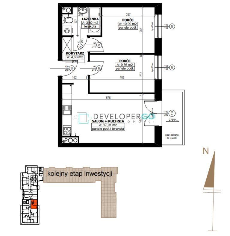 Mieszkanie trzypokojowe na sprzedaż Białystok, Antoniuk  50m2 Foto 8