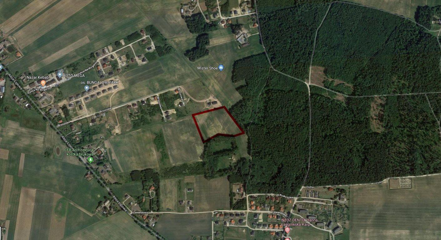 Działka budowlana na sprzedaż Leźno, Brzozowa  26121m2 Foto 1