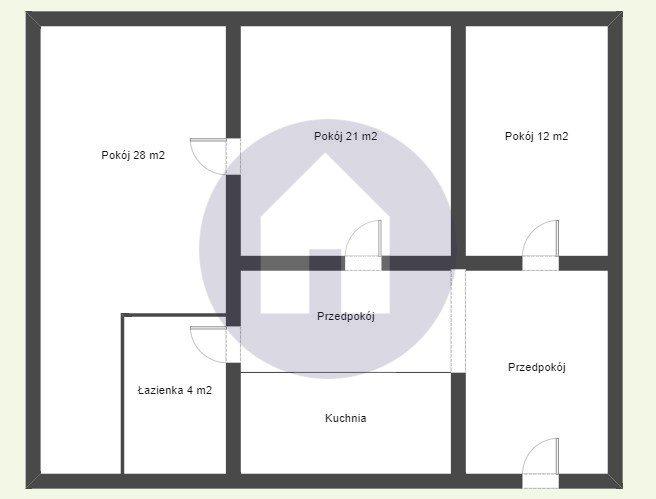 Mieszkanie trzypokojowe na sprzedaż Świdnica  73m2 Foto 6