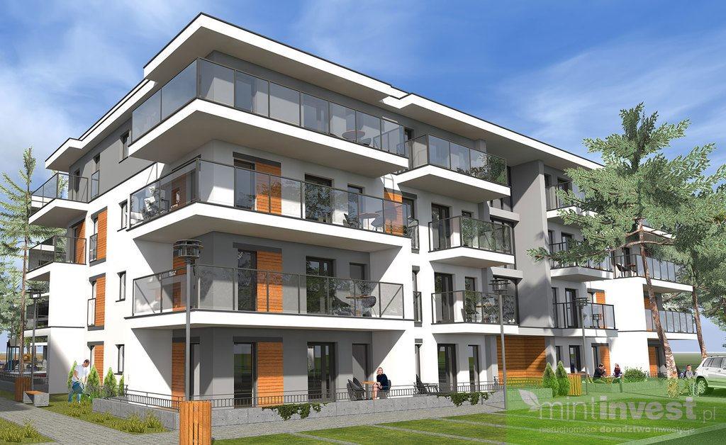 Mieszkanie trzypokojowe na sprzedaż Pobierowo, Powstańców  43m2 Foto 1