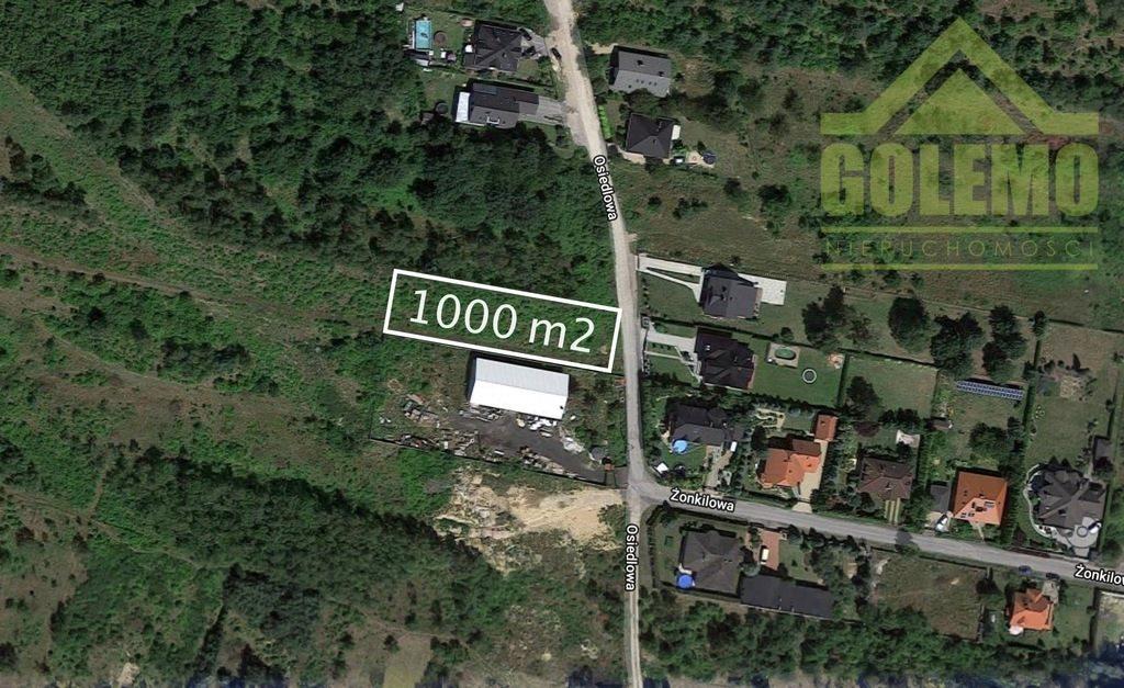 Działka budowlana na sprzedaż Wierzchowisko, Osiedlowa  1013m2 Foto 1