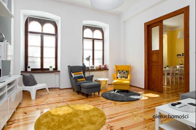 Mieszkanie czteropokojowe  na wynajem Wrocław, Stare Miasto  106m2 Foto 1