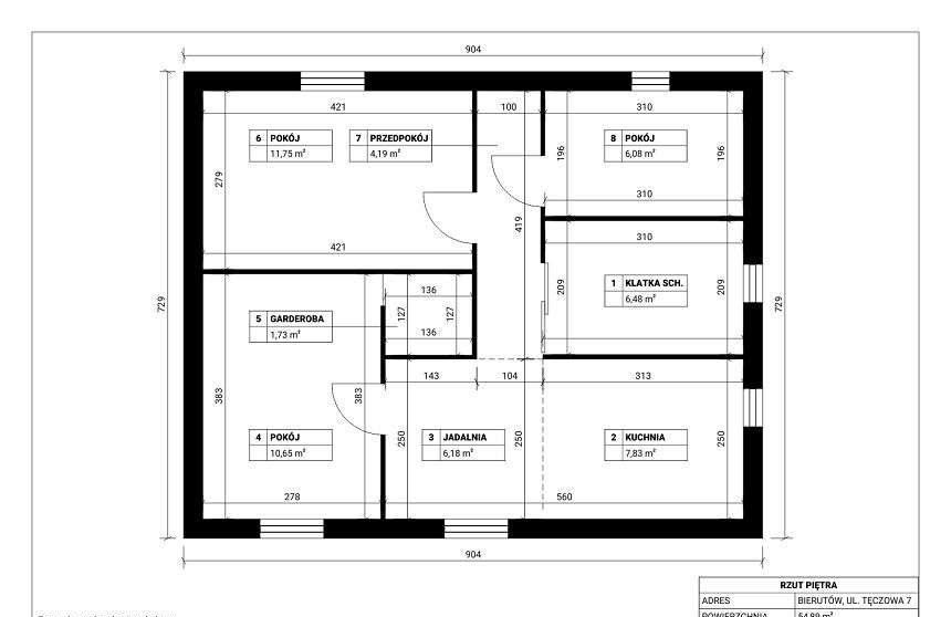 Dom na sprzedaż Bierutów, Tęczowa 7  257m2 Foto 3
