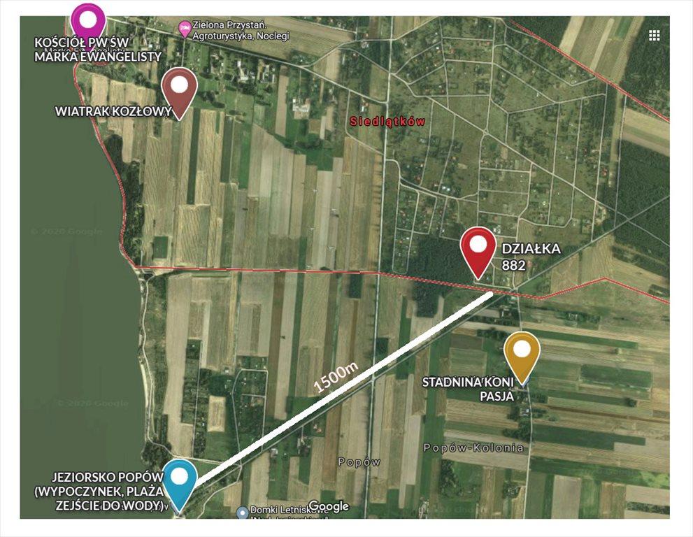Działka budowlana na sprzedaż Siedlątków, Siedlątków 882  673m2 Foto 4