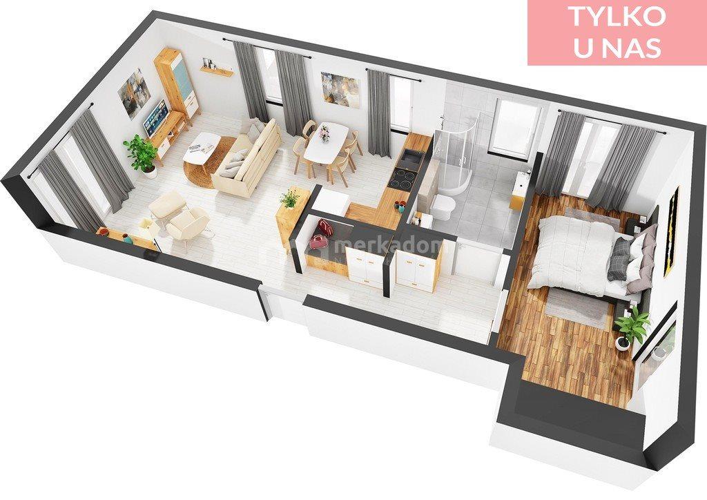 Mieszkanie dwupokojowe na sprzedaż Skoki, Topolowa  62m2 Foto 1