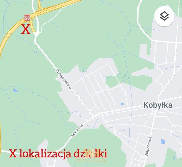Działka przemysłowo-handlowa pod dzierżawę Kobyłka, Przyjacielska  10458m2 Foto 1