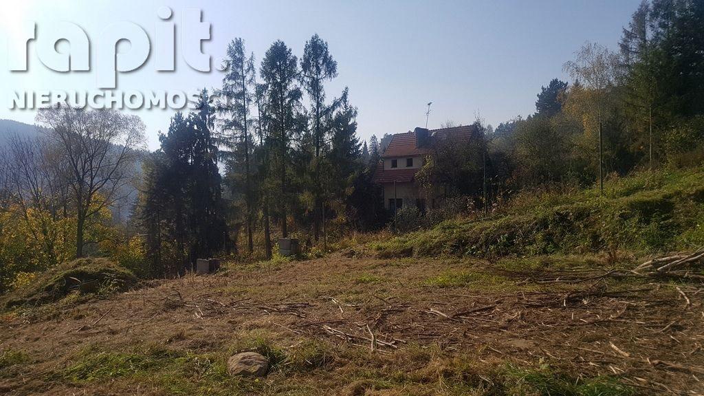 Działka budowlana na sprzedaż Myślenice  1637m2 Foto 2