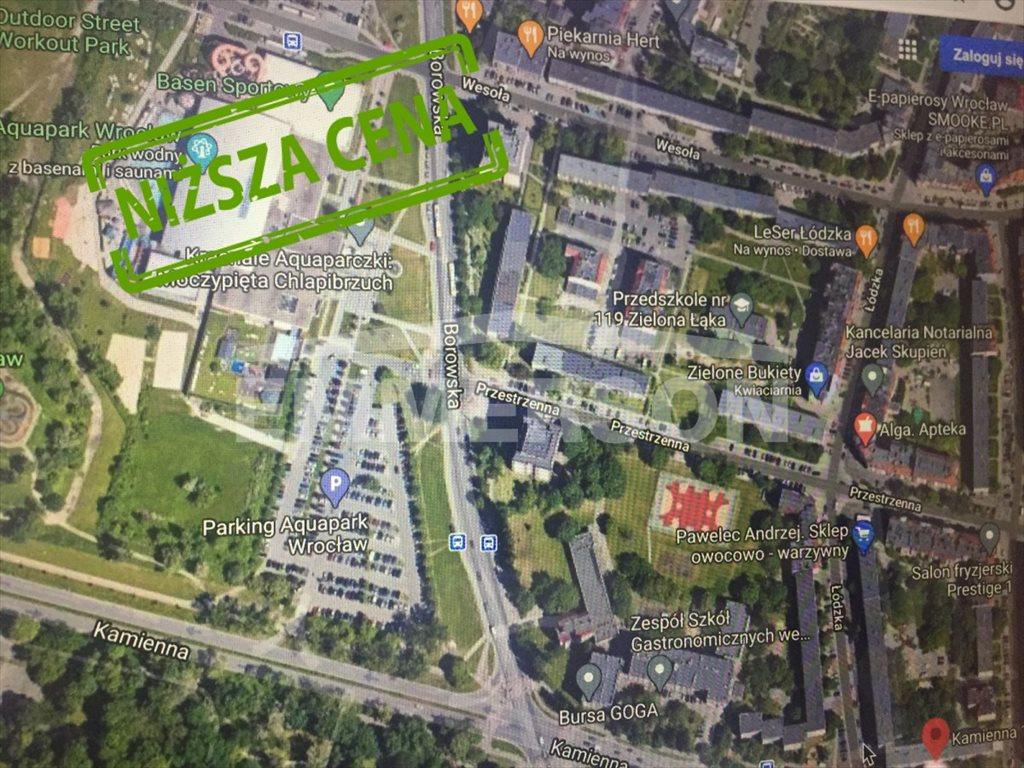 Mieszkanie trzypokojowe na sprzedaż Wrocław, Krzyki, Piękna  50m2 Foto 3