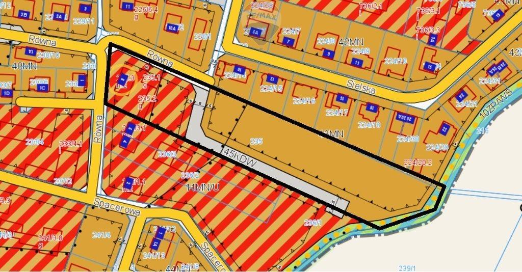 Działka budowlana na sprzedaż Zalasewo, Równa  9145m2 Foto 2