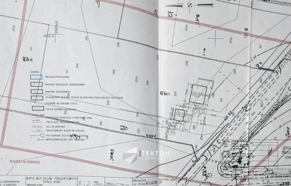 Działka budowlana na sprzedaż Trzebnica  3000m2 Foto 7
