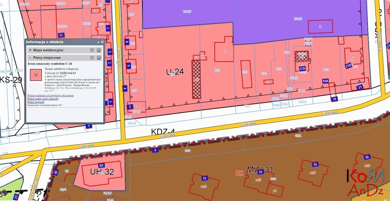 Działka komercyjna na sprzedaż Chełm, Kolejowa  3446m2 Foto 11