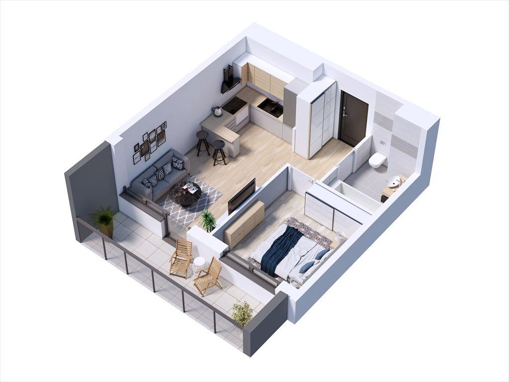 Mieszkanie dwupokojowe na sprzedaż Warszawa, tarchomin, Trąby  29m2 Foto 1