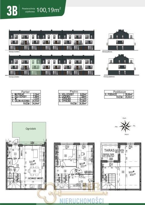 Dom na sprzedaż Marki, Legionowa  100m2 Foto 2