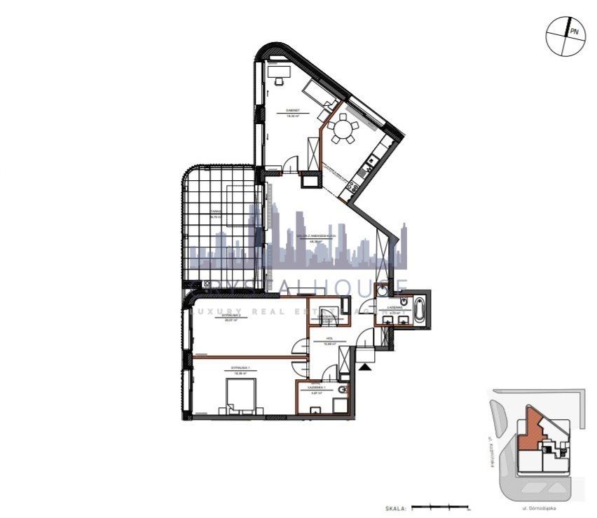 Mieszkanie czteropokojowe  na sprzedaż Warszawa, Śródmieście, Górnośląska  129m2 Foto 9