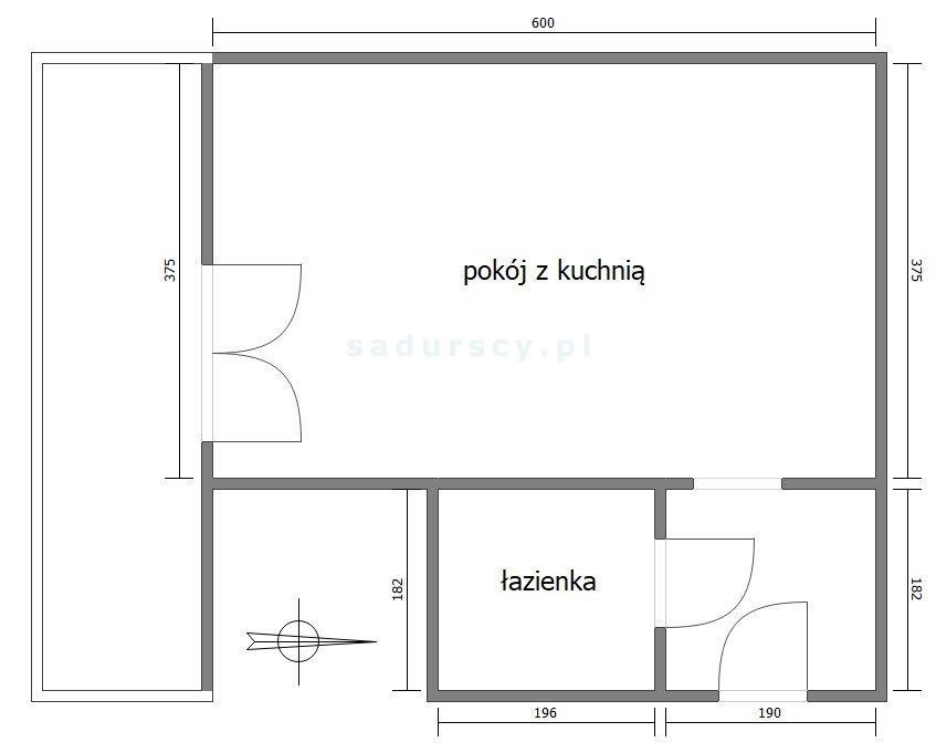 Kawalerka na sprzedaż Kraków, Prądnik Biały, Górka Narodowa, Kuźnicy Kołłątajowskiej  30m2 Foto 3