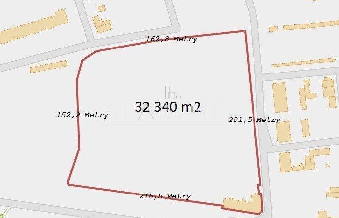 Działka budowlana na sprzedaż Łódź, Górna  32340m2 Foto 1