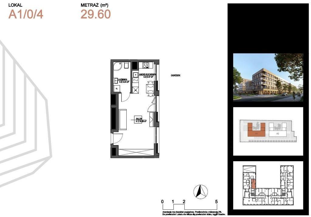 Mieszkanie dwupokojowe na sprzedaż Łódź, Widzew, Juliana Tuwima  30m2 Foto 2