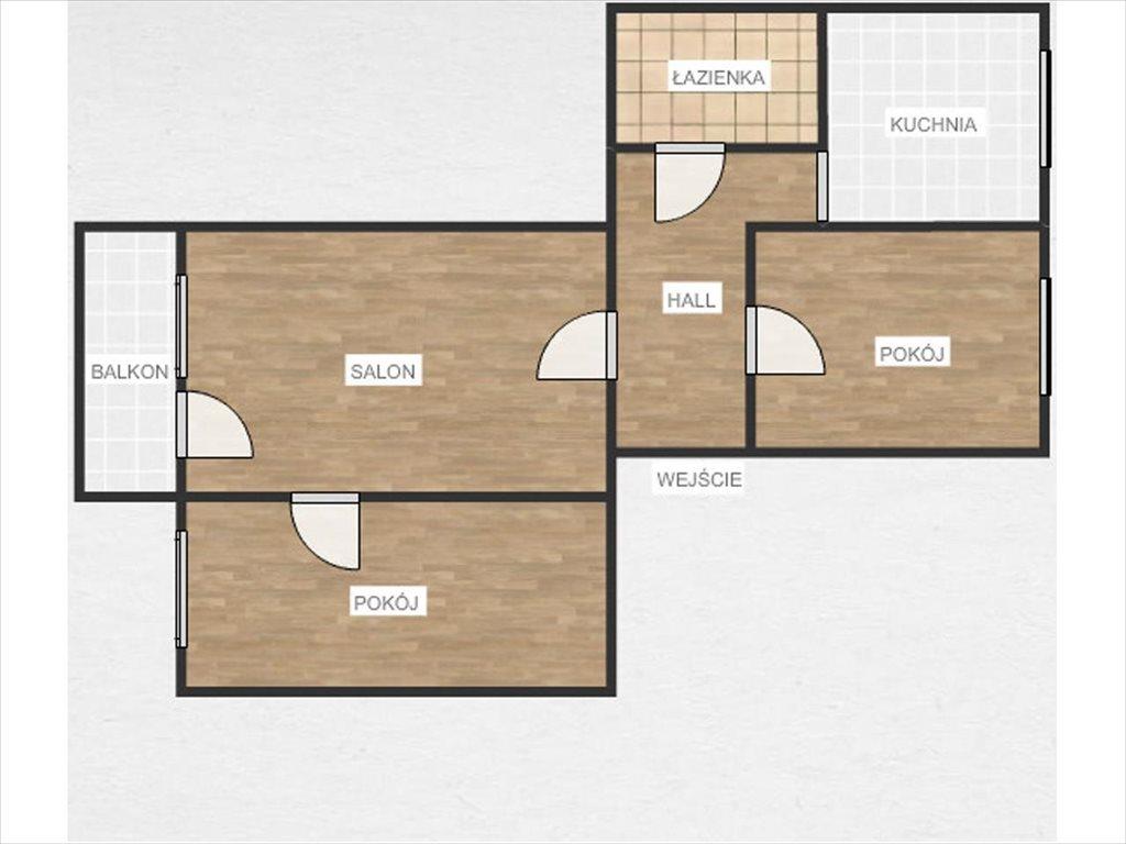 Mieszkanie trzypokojowe na sprzedaż Rzeszów, Rzeszów, Kosynierów  49m2 Foto 7