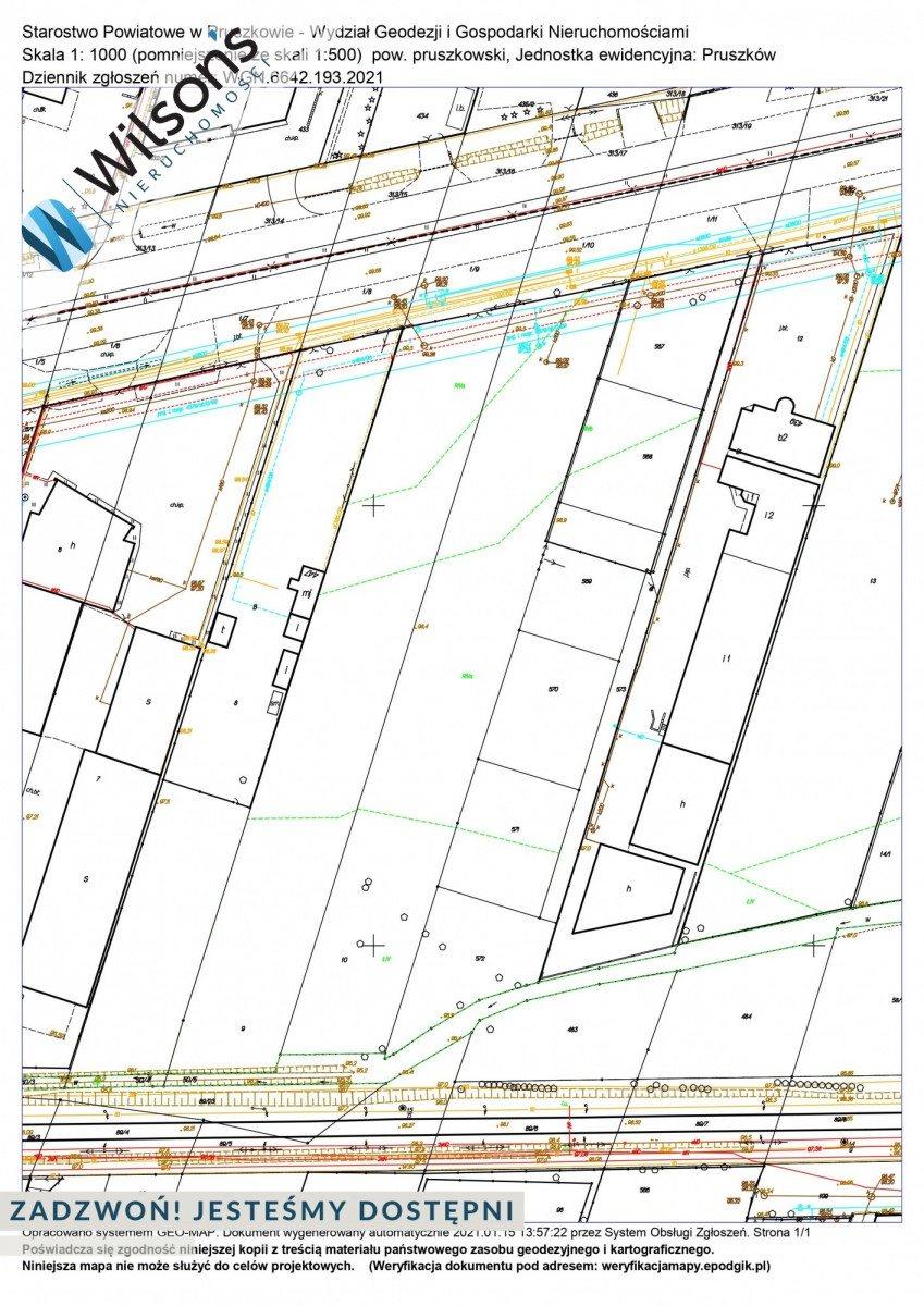 Działka przemysłowo-handlowa na sprzedaż Pruszków, Jerozolimskie  13280m2 Foto 1