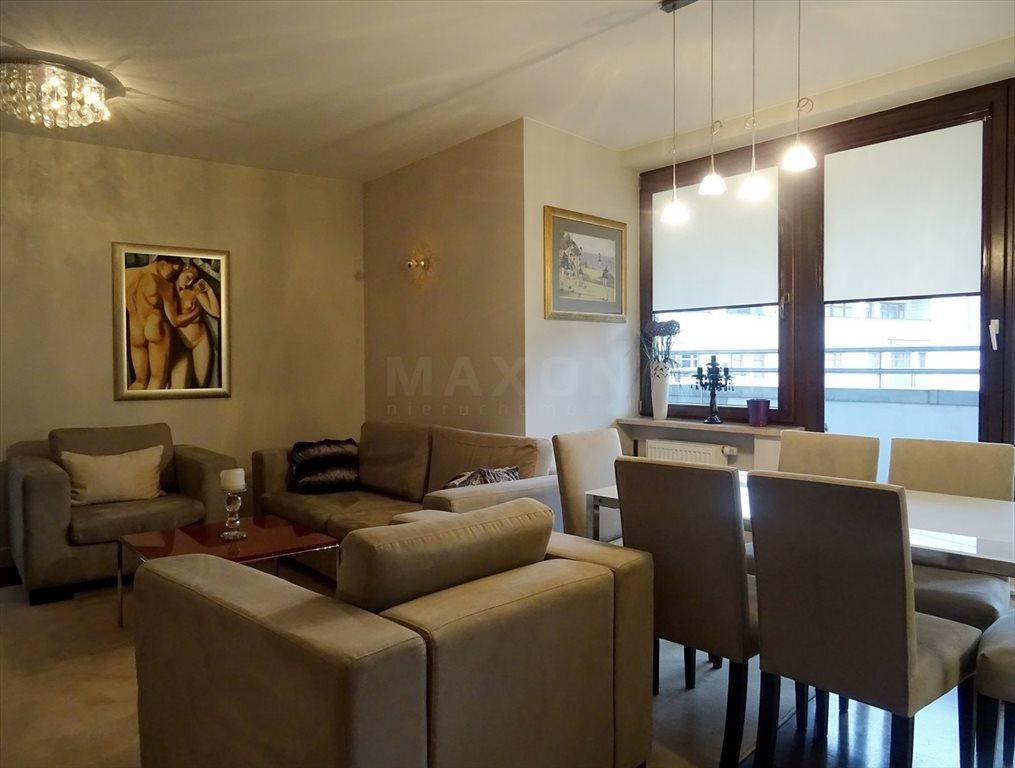 Mieszkanie trzypokojowe na wynajem Warszawa, Wilanów, Sarmacka  109m2 Foto 5